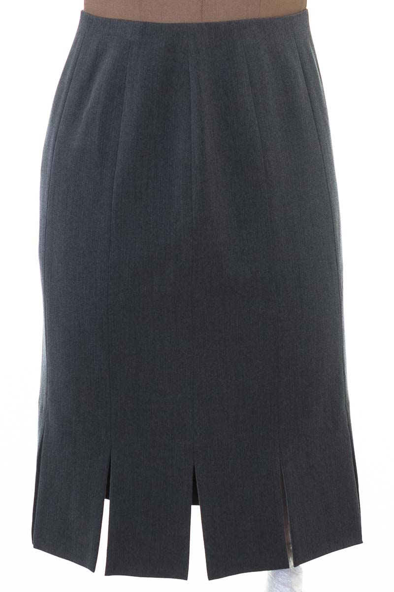 Falda Elegante color Gris - Grace Elements