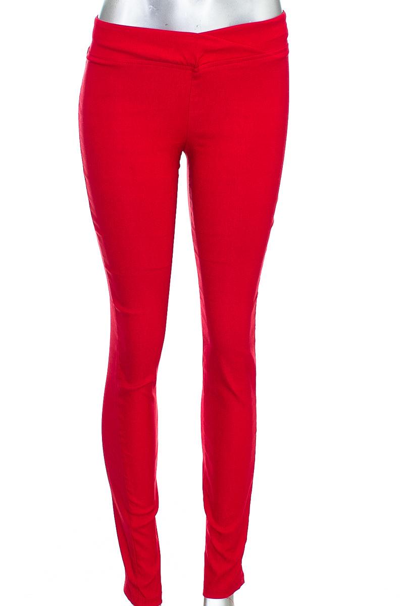Pantalón Casual color Rojo - Fe