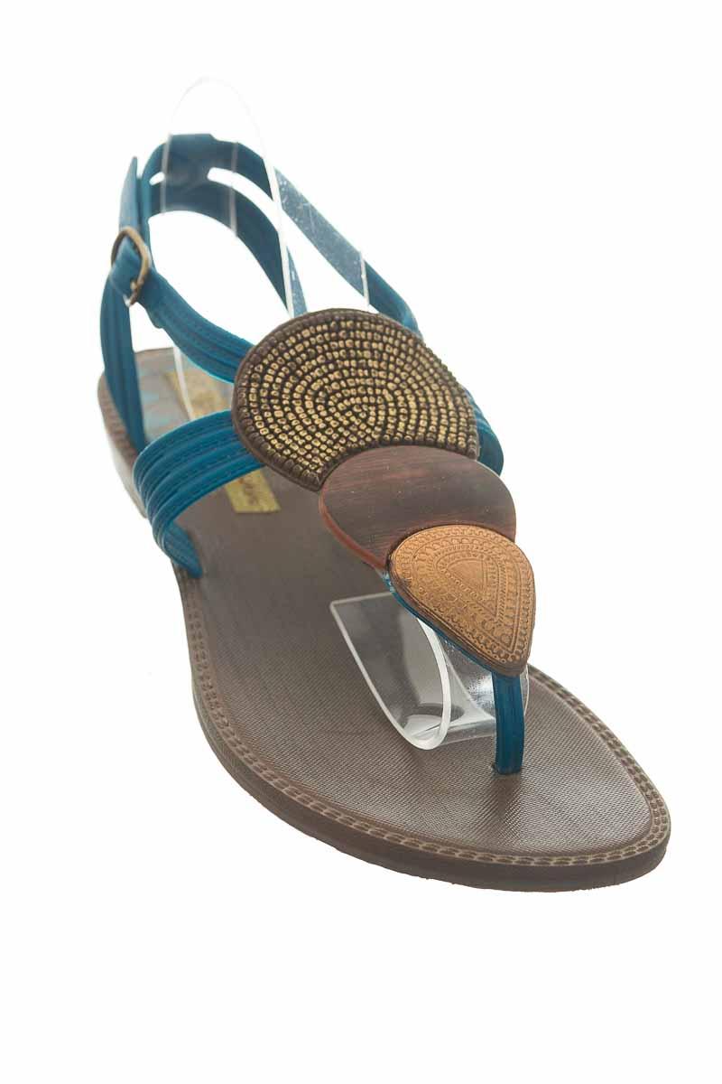 Zapatos color Azul - Grendha
