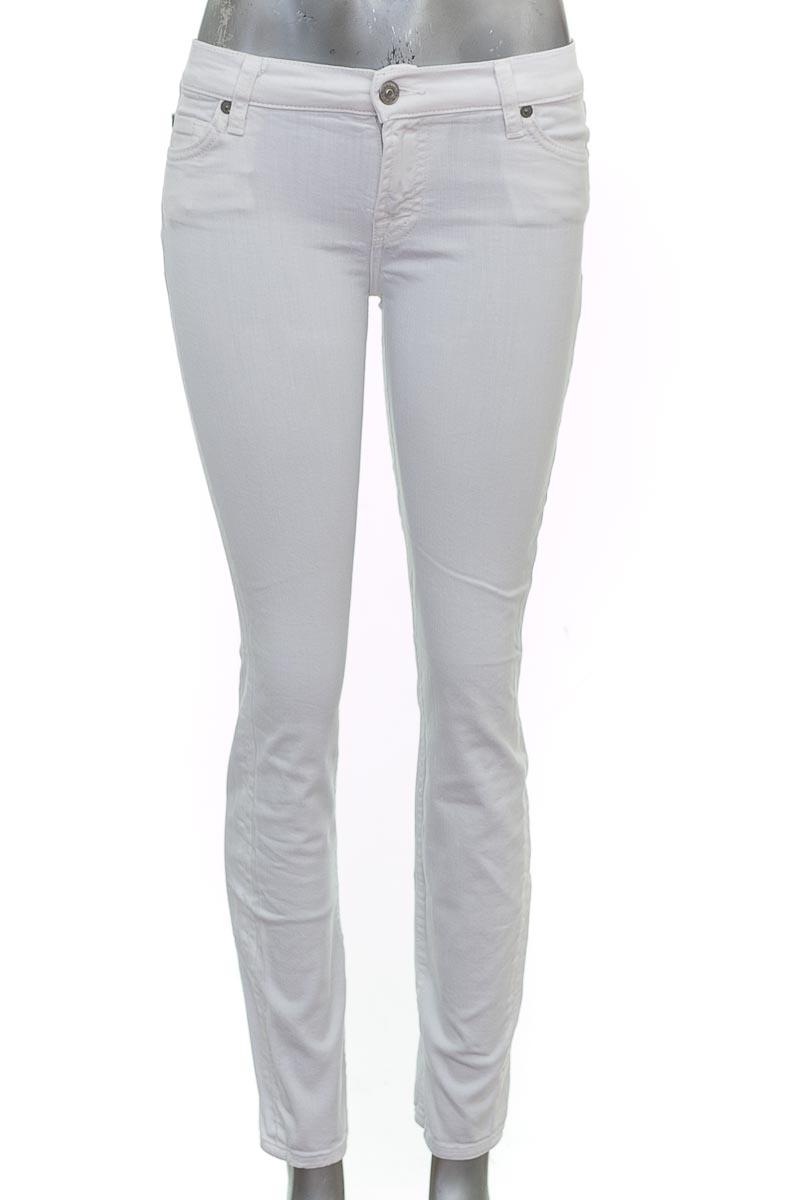 Pantalón Casual color Blanco - 7 For All Mankind