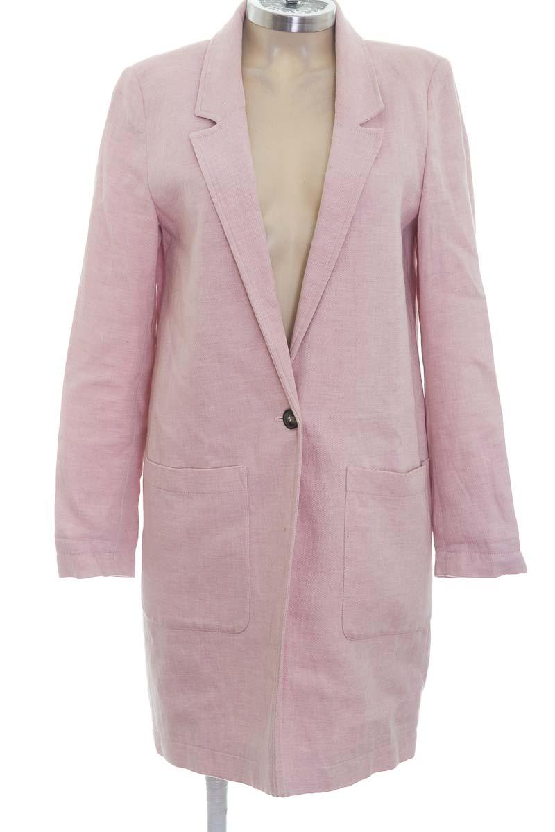 Chaqueta / Abrigo color Rosado - Esprit