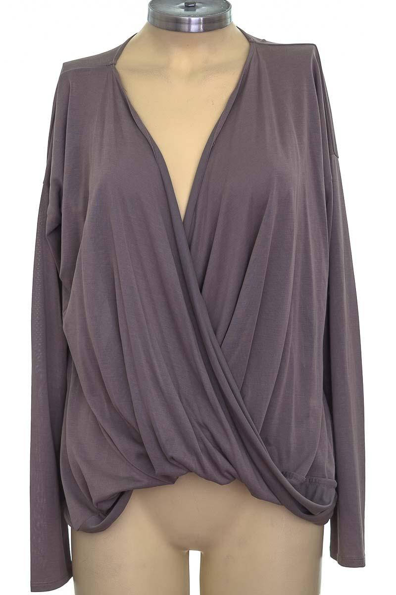 Blusa color Gris - Abercrombie