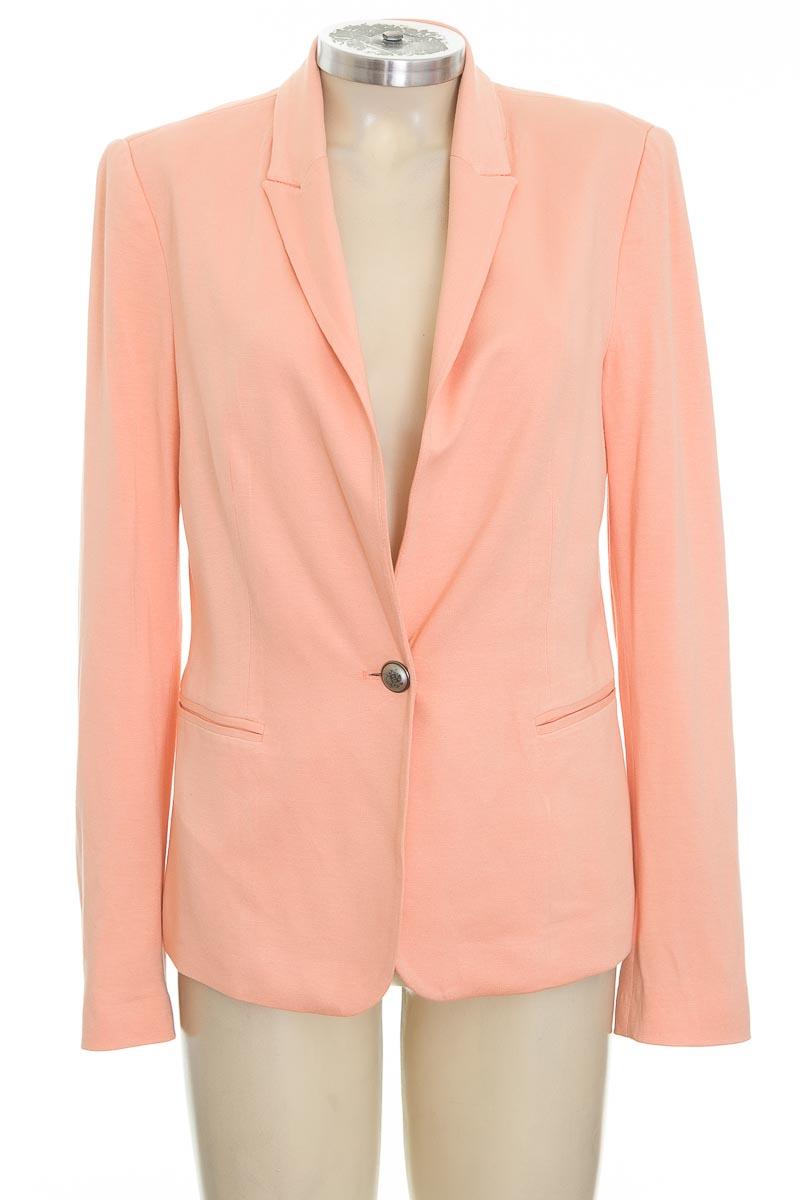 Chaqueta / Abrigo color Naranja - Zara