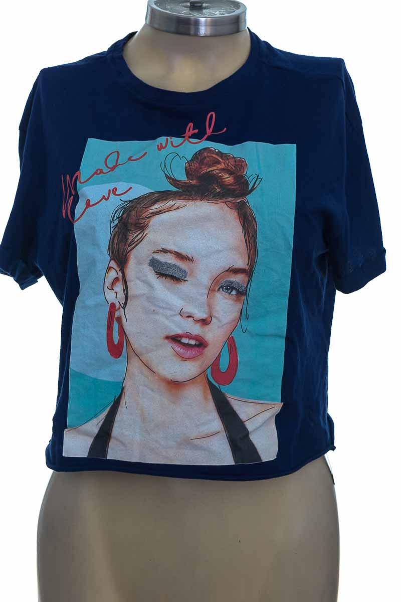 Top / Camiseta color Azul - Koaj