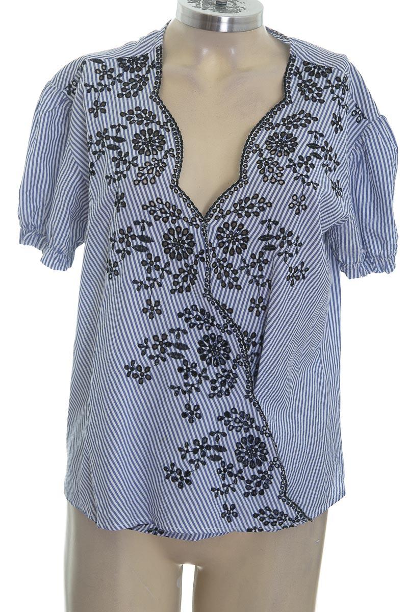 Blusa color Azul - Zara