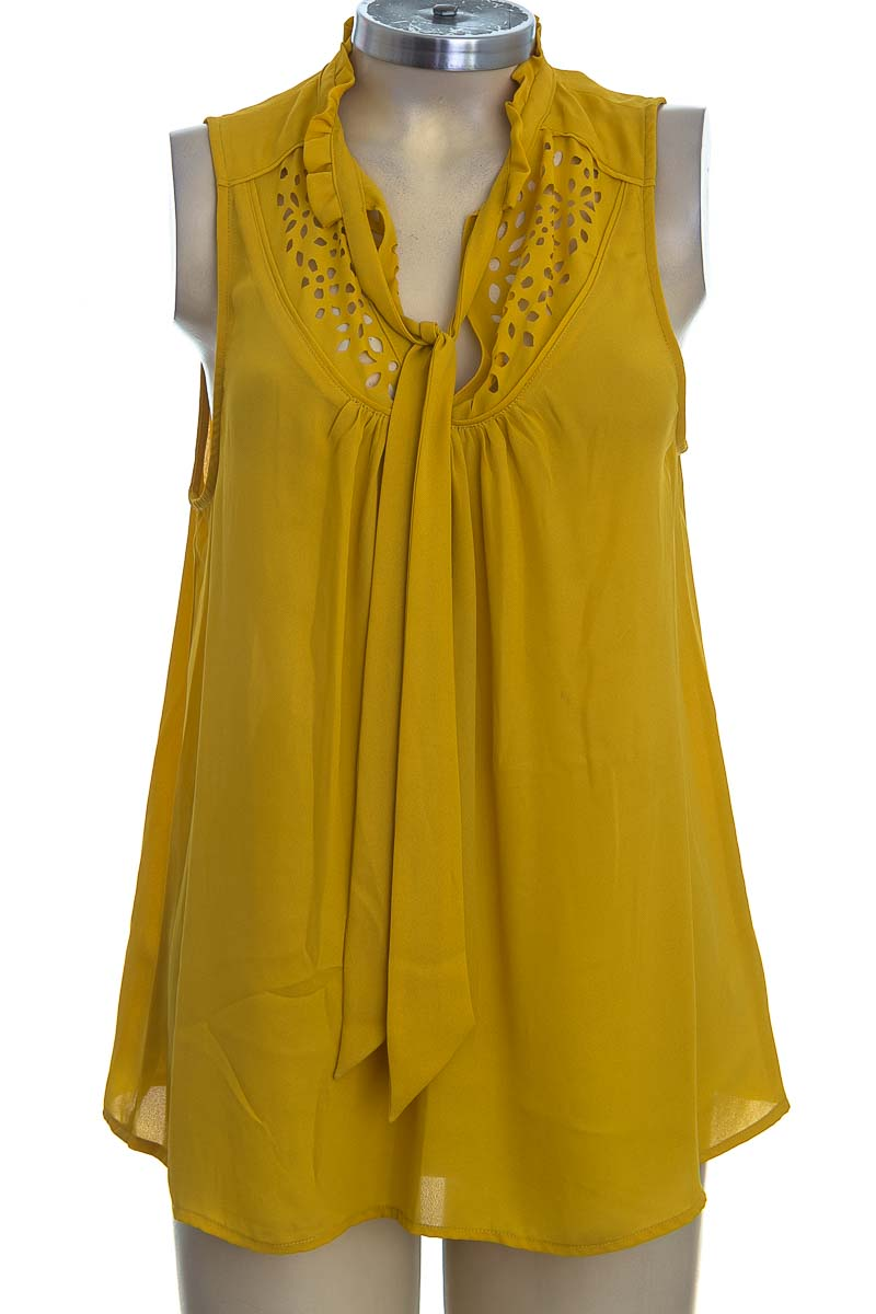 Blusa color Mostaza - Maeve