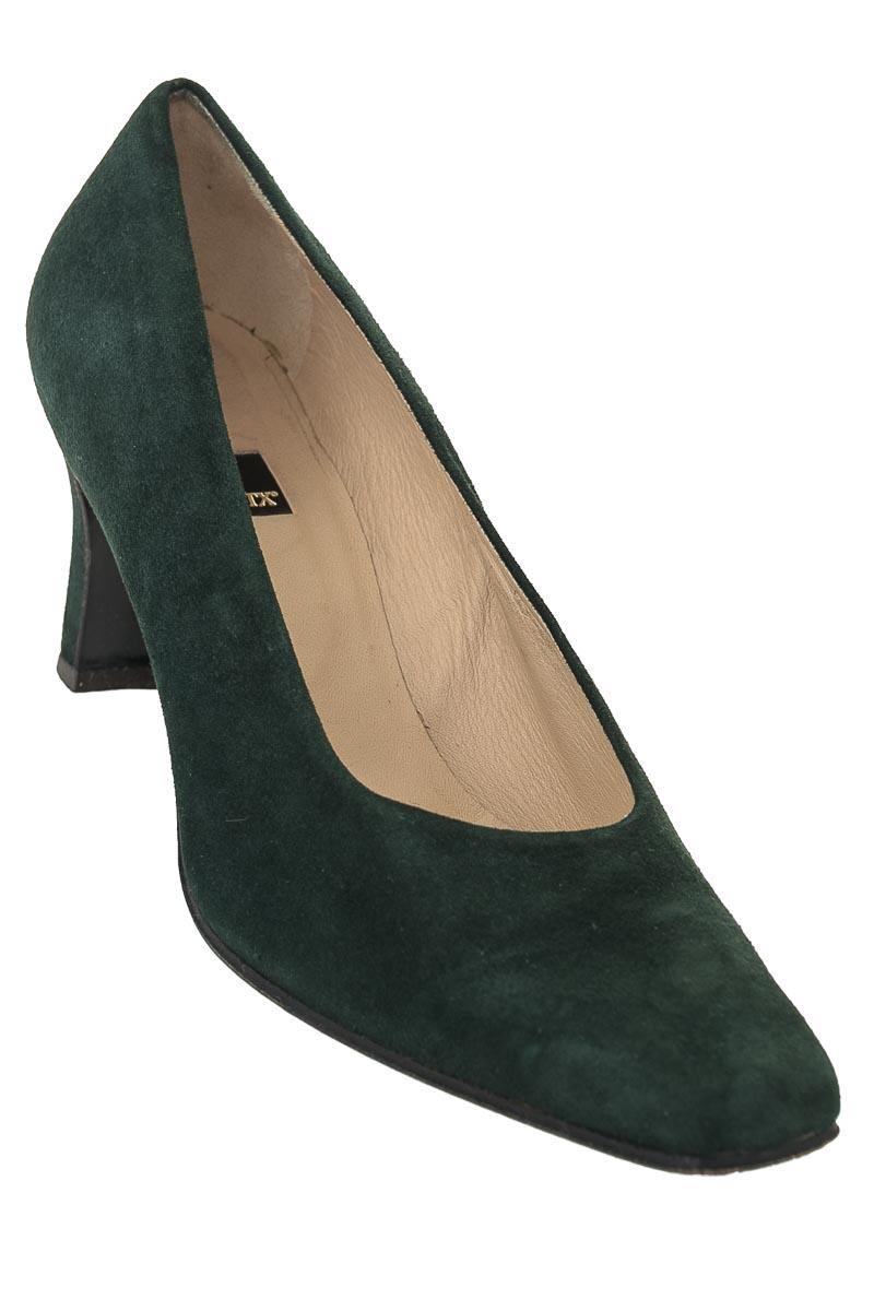 Zapatos Baleta color Verde - Farrutx
