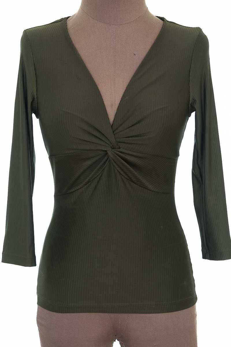 Blusa Casual color Verde - Studio F