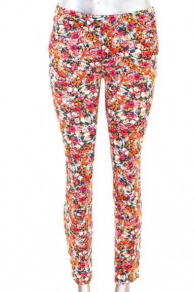 Pantalón Casual color Estampado - Zara