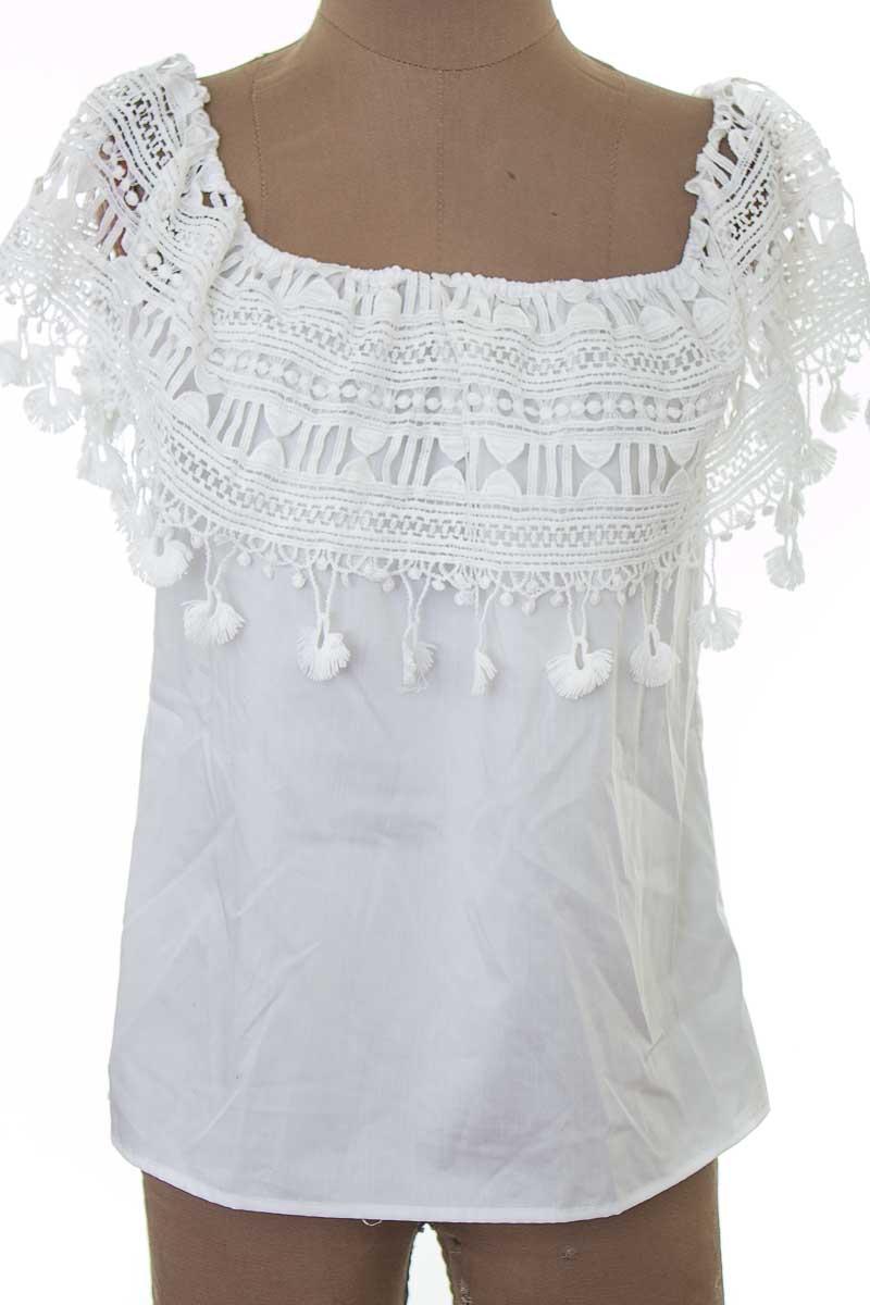 Blusa color Blanco - Guipiu