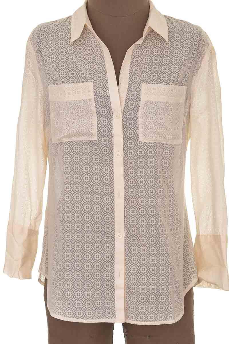 Blusa Formal color Beige - Ann Taylor