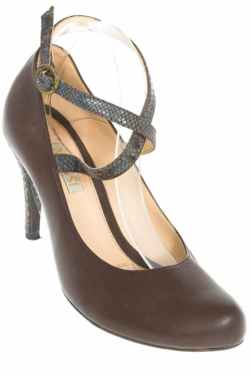 Zapatos Tacón color Café - Mussi