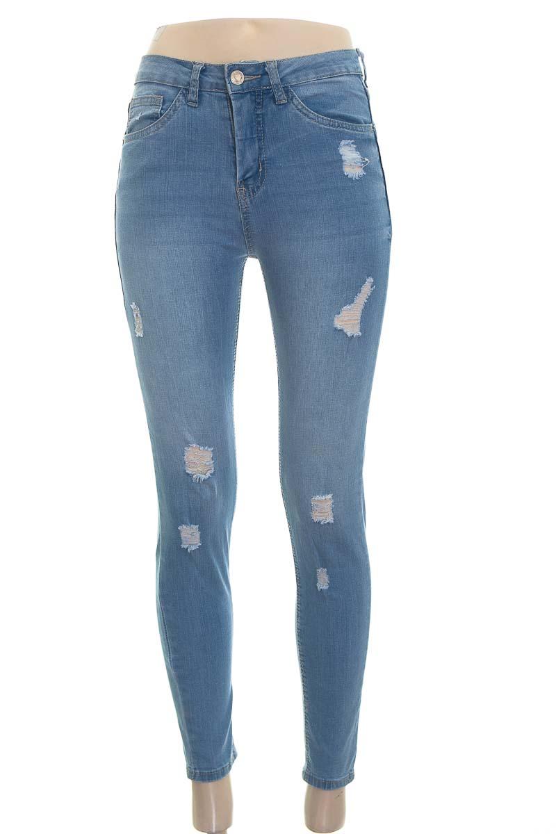 Pantalón color Azul - Sybilla
