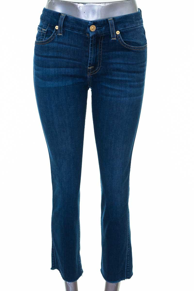 Pantalón Jeans color Azul - FOR ALL 7 MOMKIND