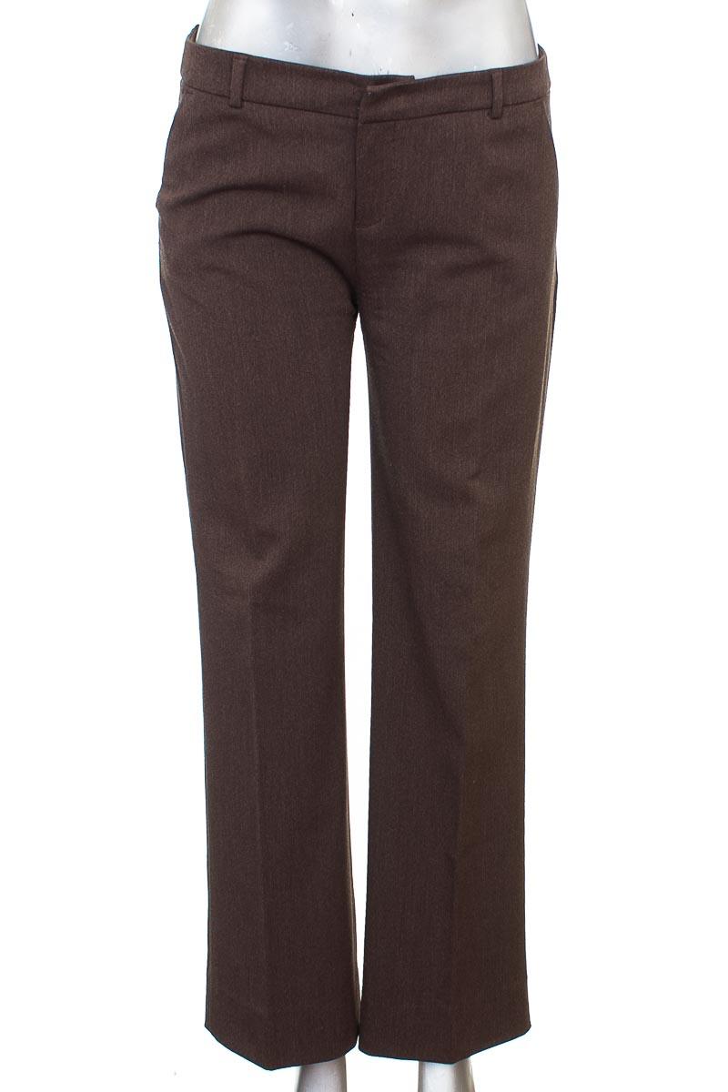 Pantalón Formal color Café - Esprit