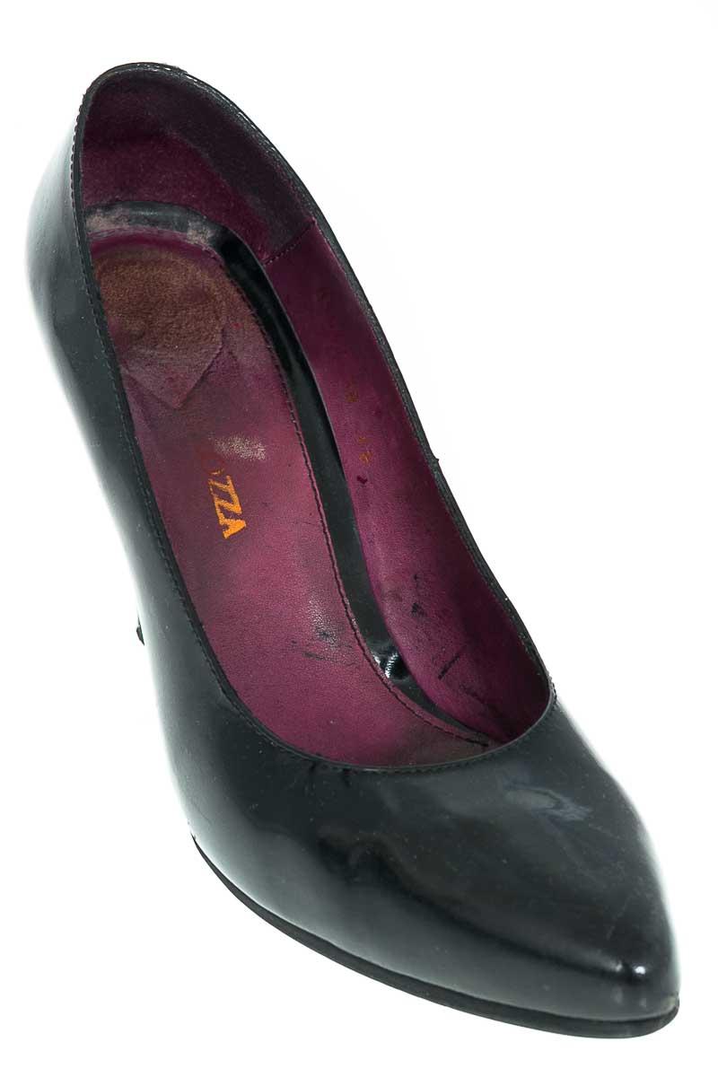 Zapatos Tacón color Negro - Nora Lozza