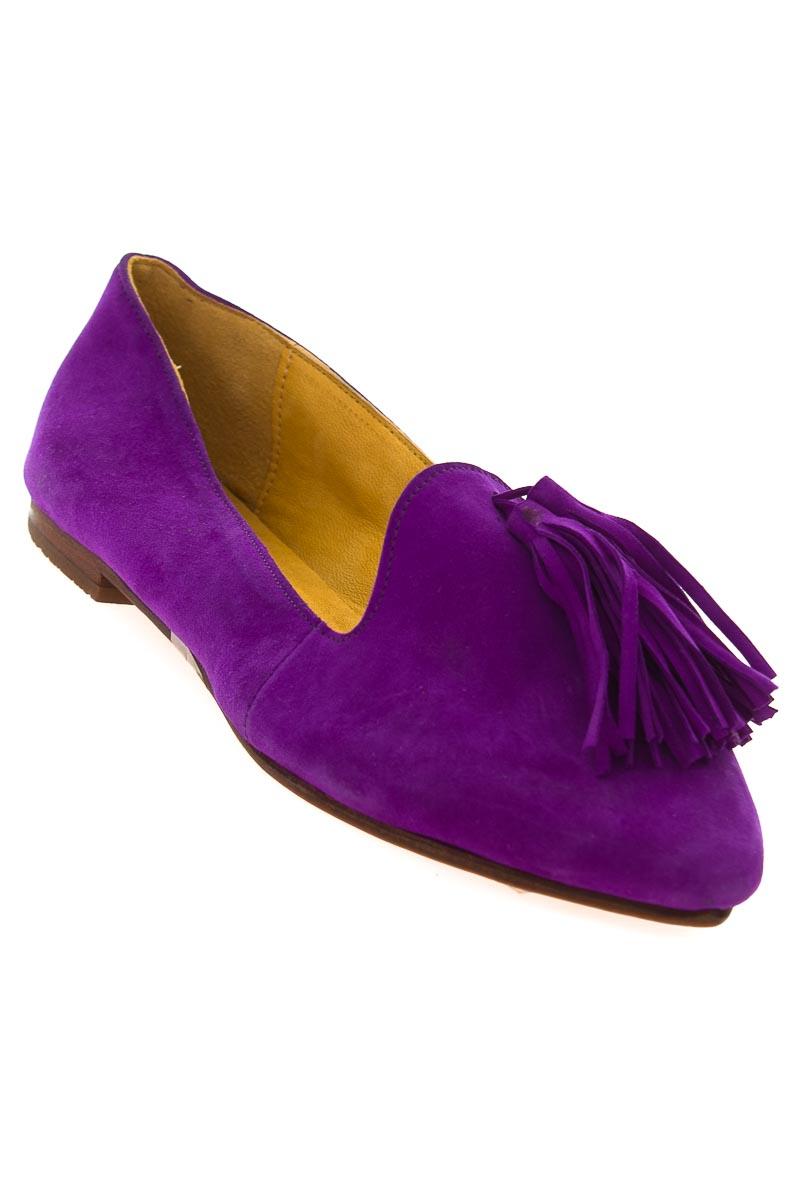 Zapatos Baleta color Morado - Cherif