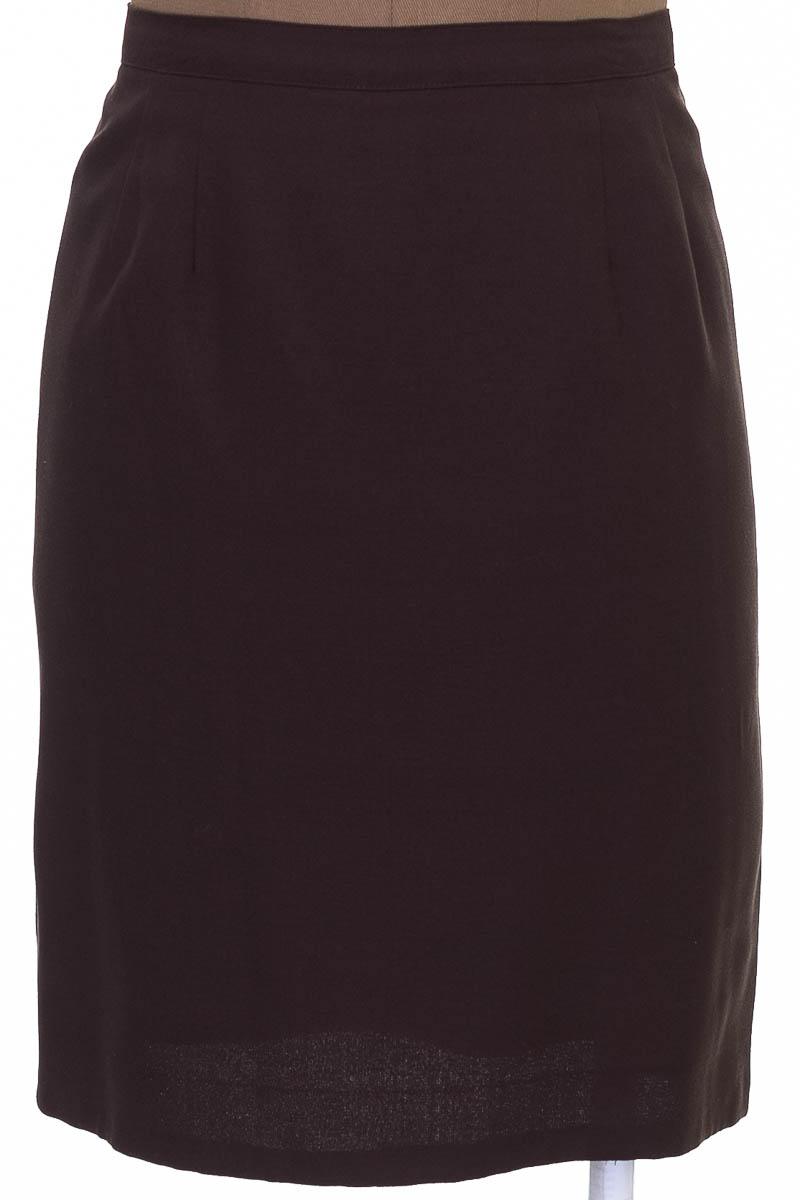 Falda Elegante color Café - Le Suit