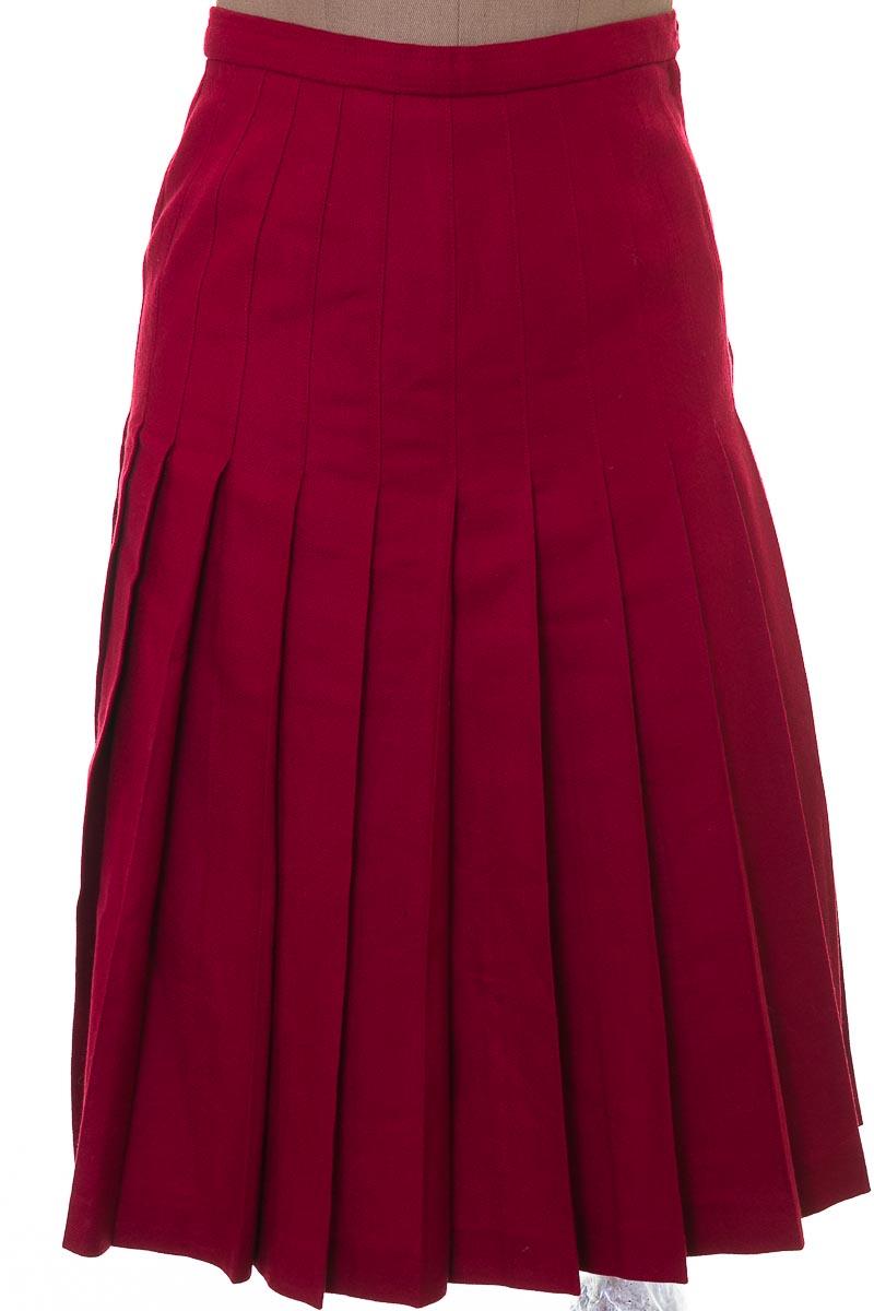 Falda Elegante color Vinotinto - Melder´s