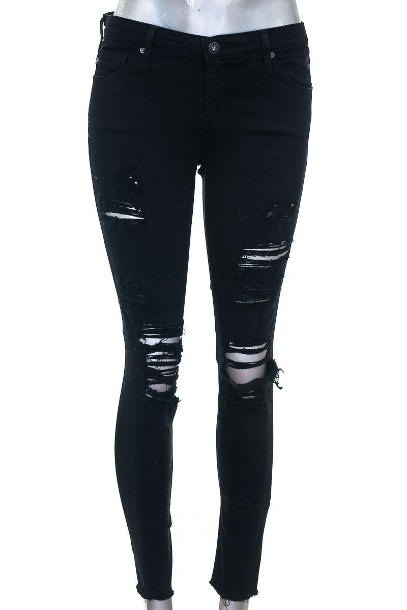Pantalón Jeans color Negro - Adriano Goldschmied