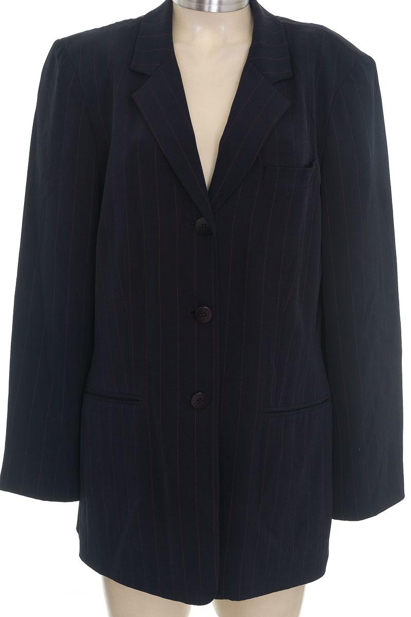 Chaqueta / Abrigo color Azul - Liz Claiborne