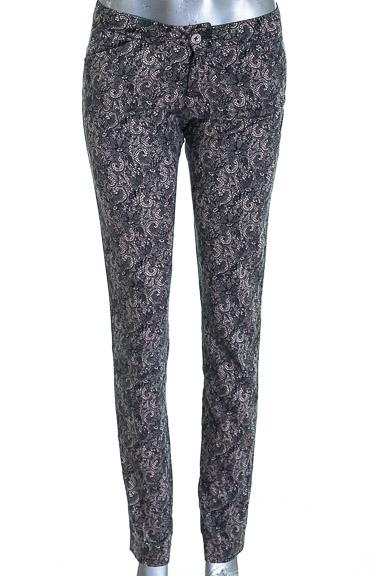 Pantalón Casual color Negro - Sisley