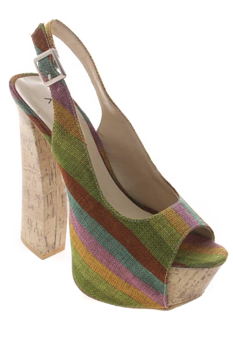 Zapatos Sandalia color Estampado - AISHTI