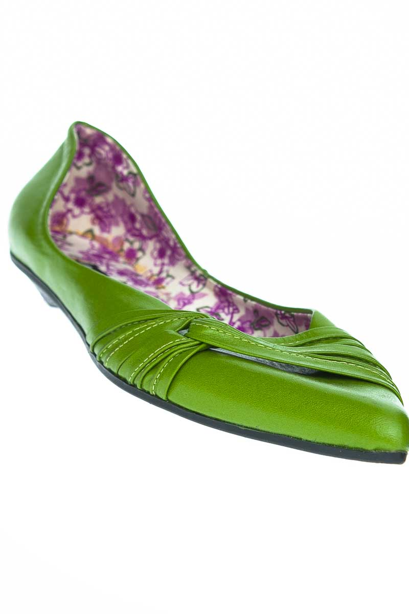 Zapatos Baleta color Verde - DONNA KACHE