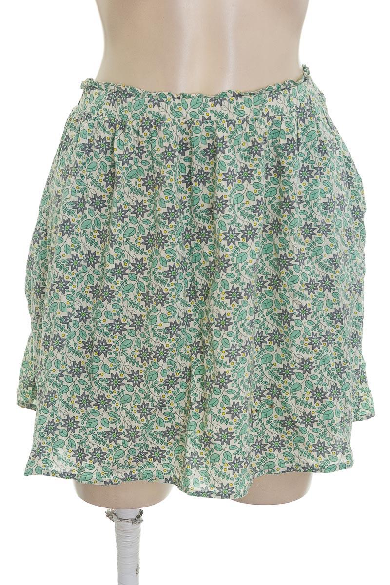 Falda color Verde - Springfield