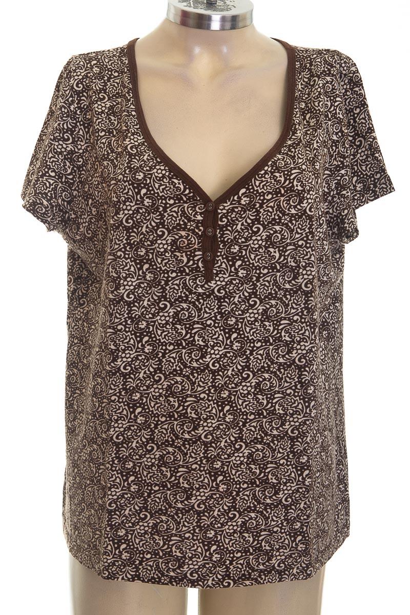Top / Camiseta color Café - Liz Claiborne