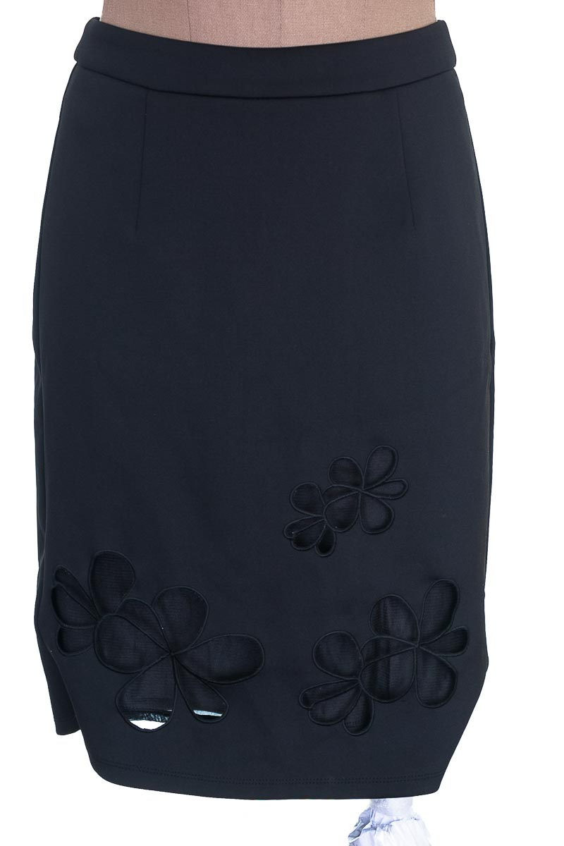 Falda Elegante color Negro - CATHERINE MALANDRINO