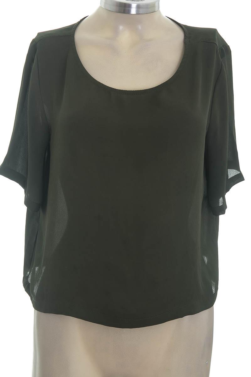 Blusa color Verde - Forever 21