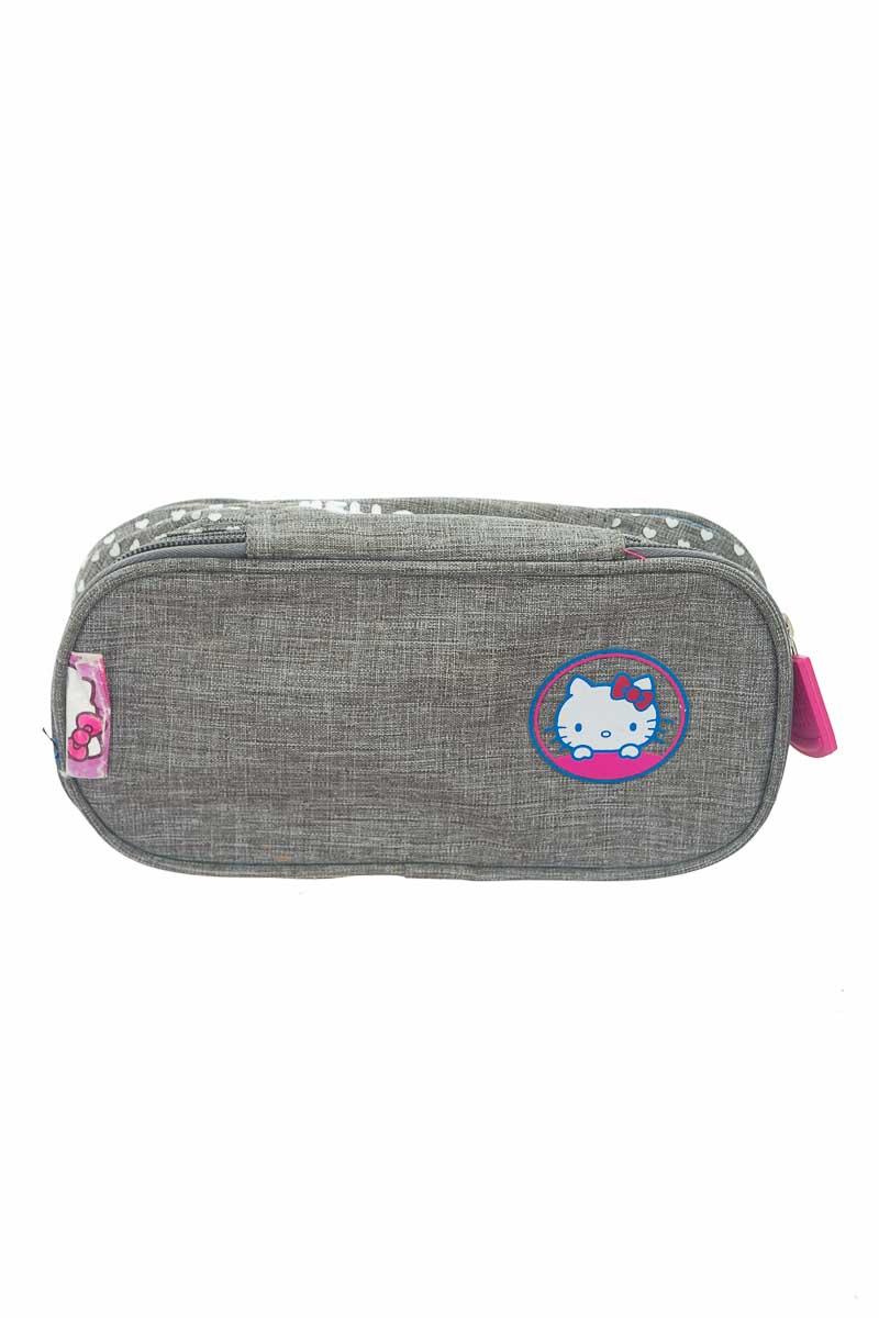 Cartera / Bolso / Monedero color Gris - Hello Kitty