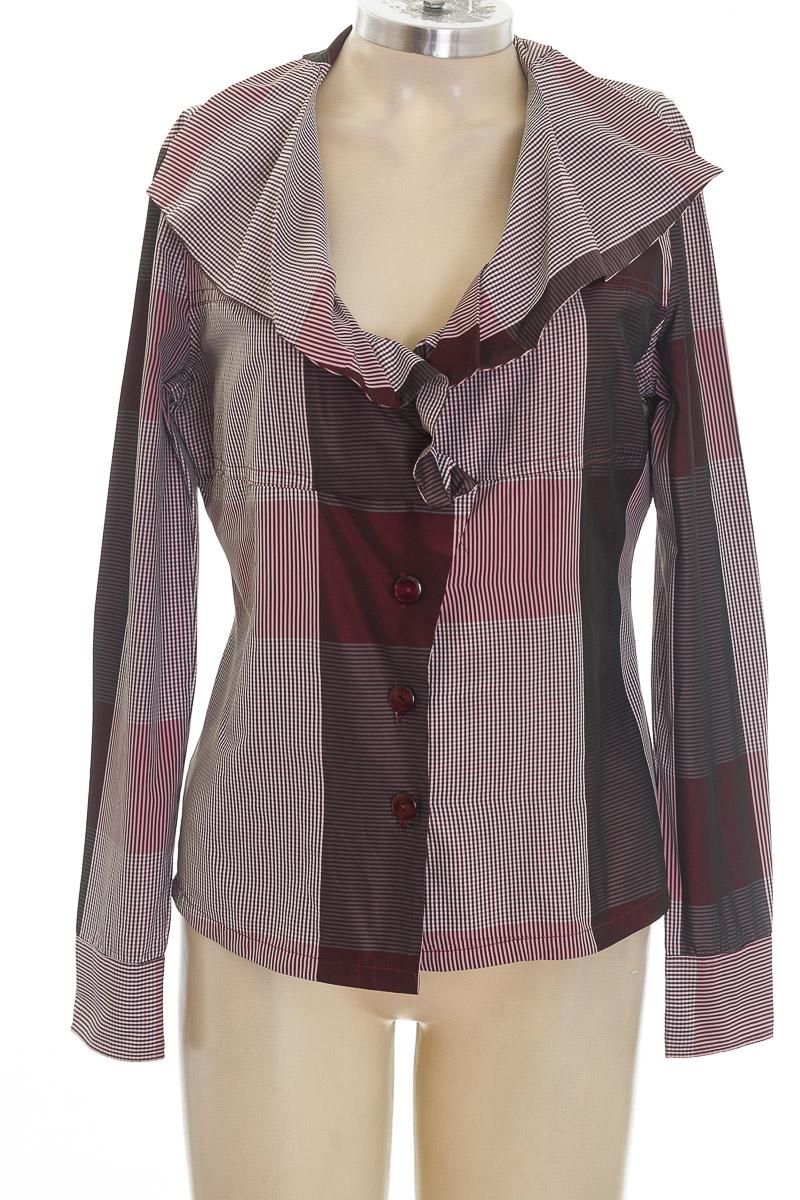 Blusa color Vinotinto - Nara Camicie