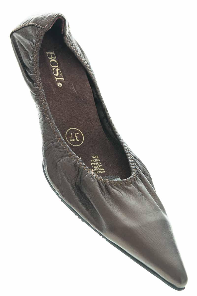 Zapatos Baleta color Dorado - Bosi