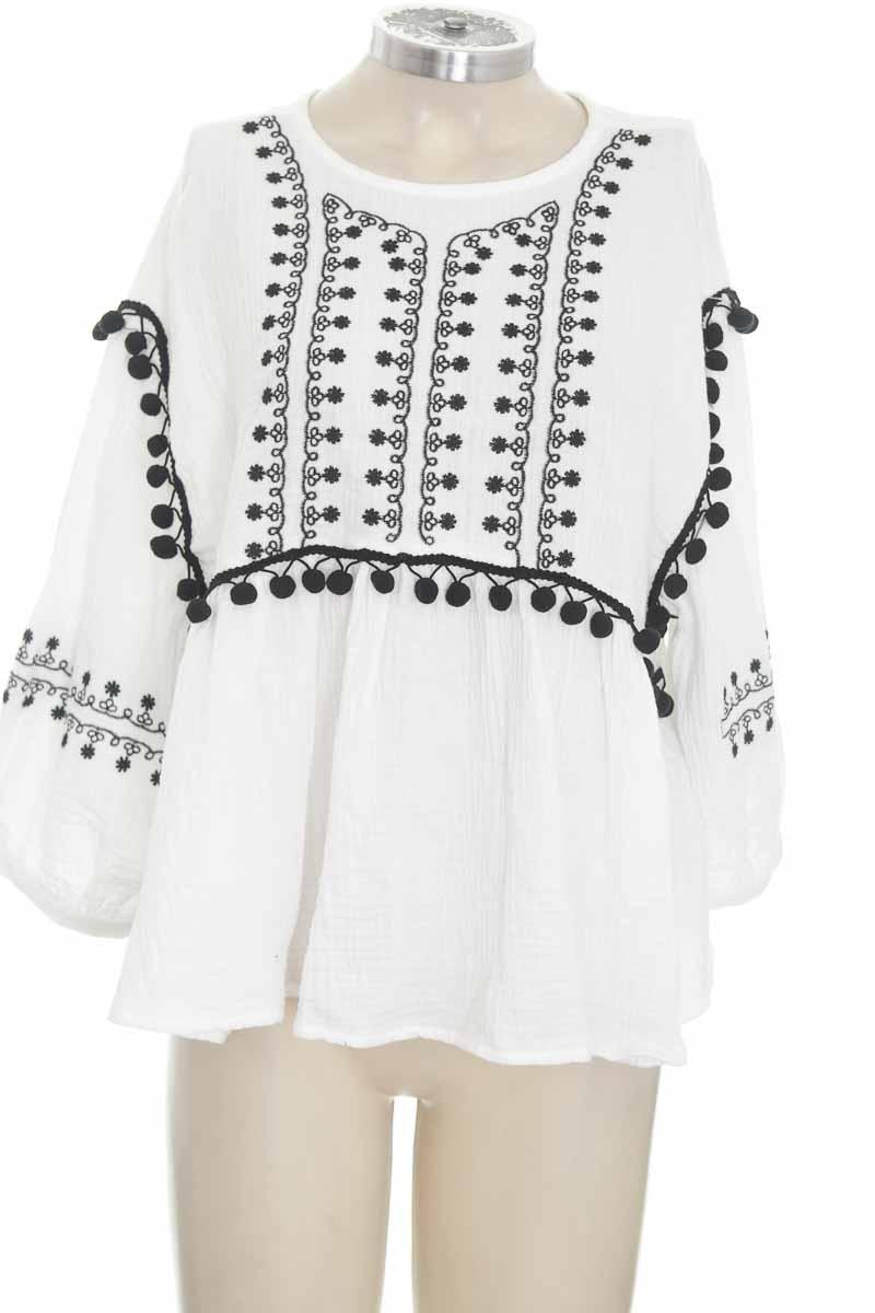 Blusa color Blanco - NAF NAF