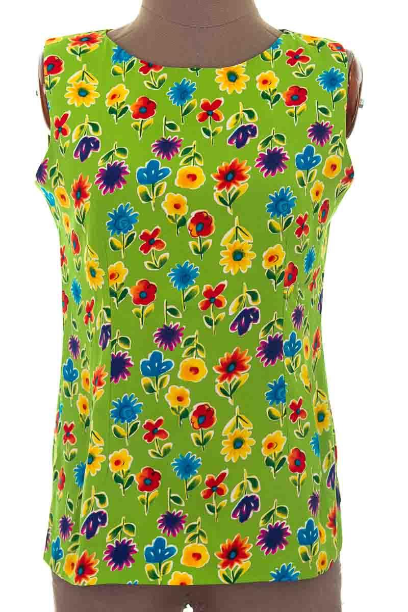 Blusa color Verde - Mari Elle