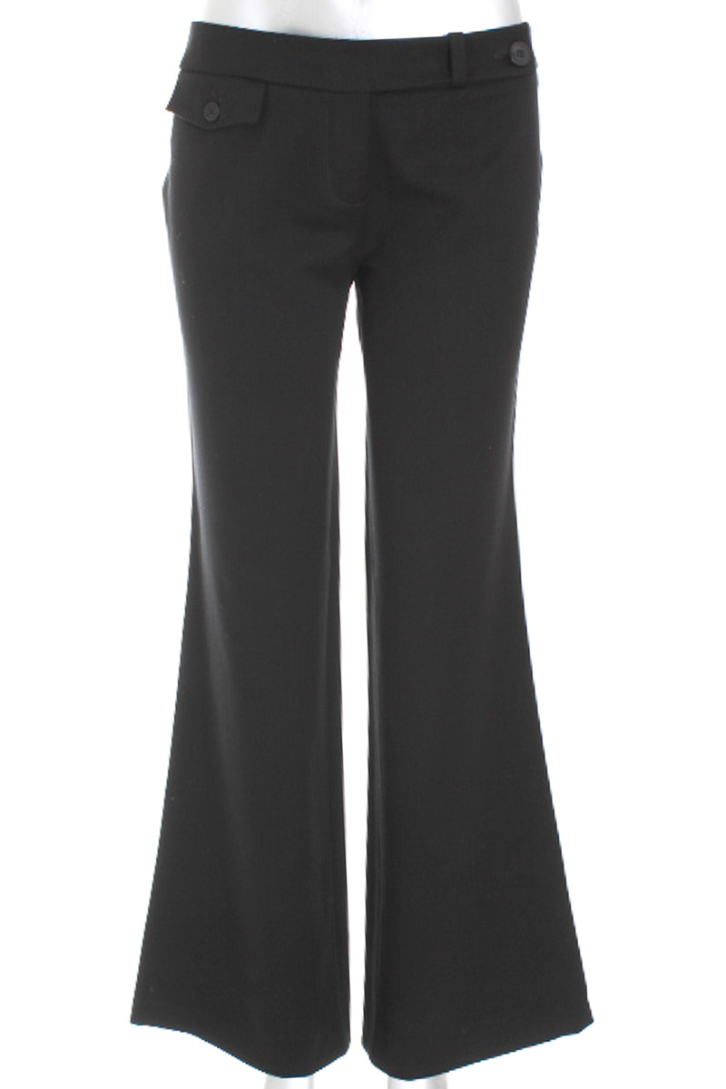 Pantalón Formal color Negro - Esprit