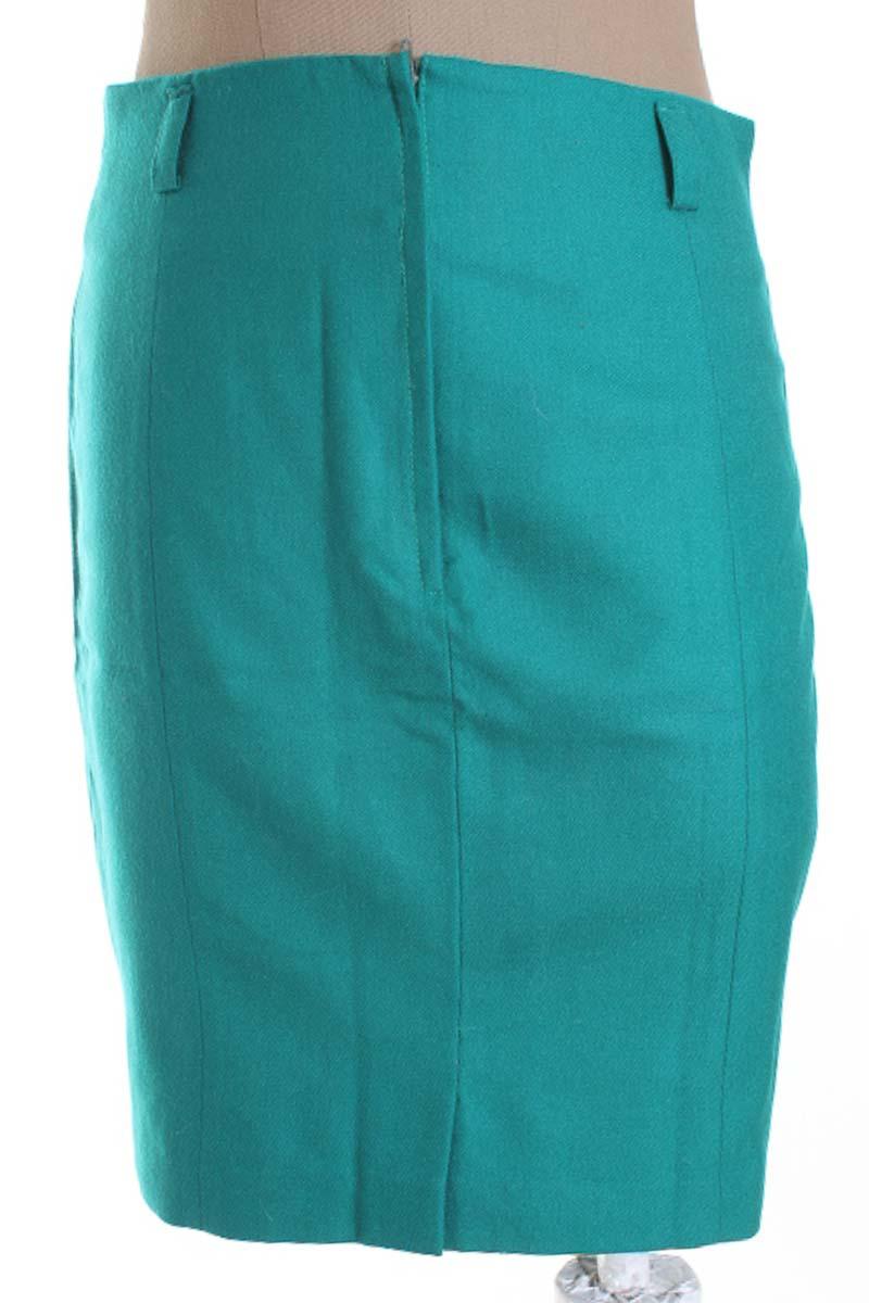 Falda Elegante color Verde - Tempus