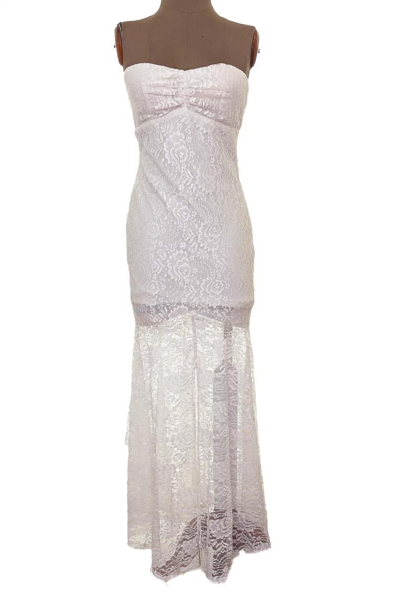 Vestido / Enterizo Casual color Blanco - Ynes