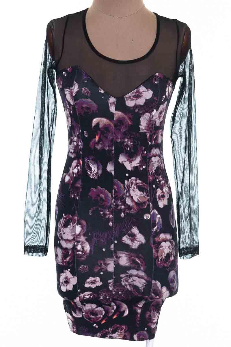 Vestido / Enterizo Casual color Negro - H&M