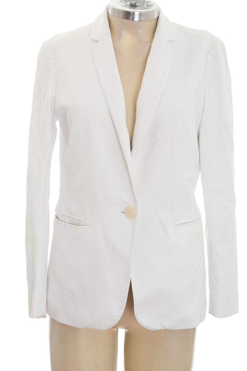 Chaqueta / Abrigo color Blanco - Massimo Dutti