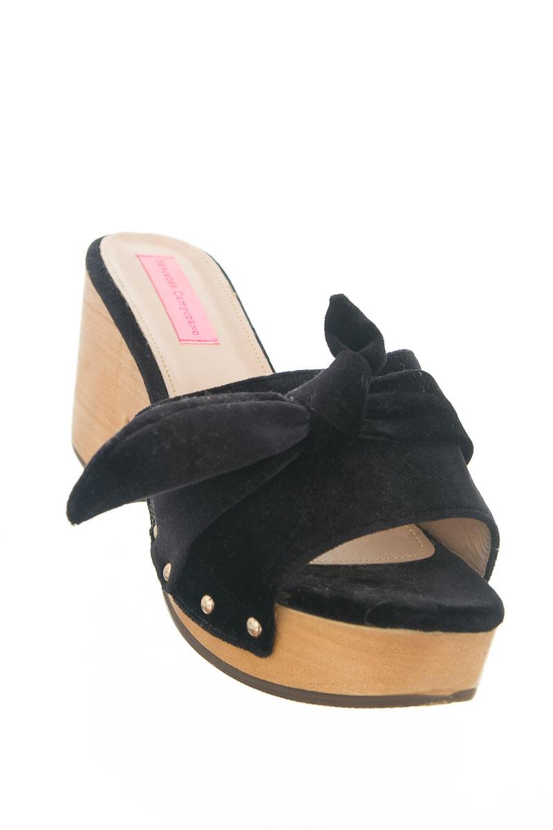 Zapatos color Negro - Mercedes Campuzano