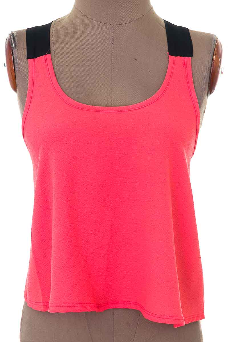 Blusa Casual color Salmón - Charlotte Russe