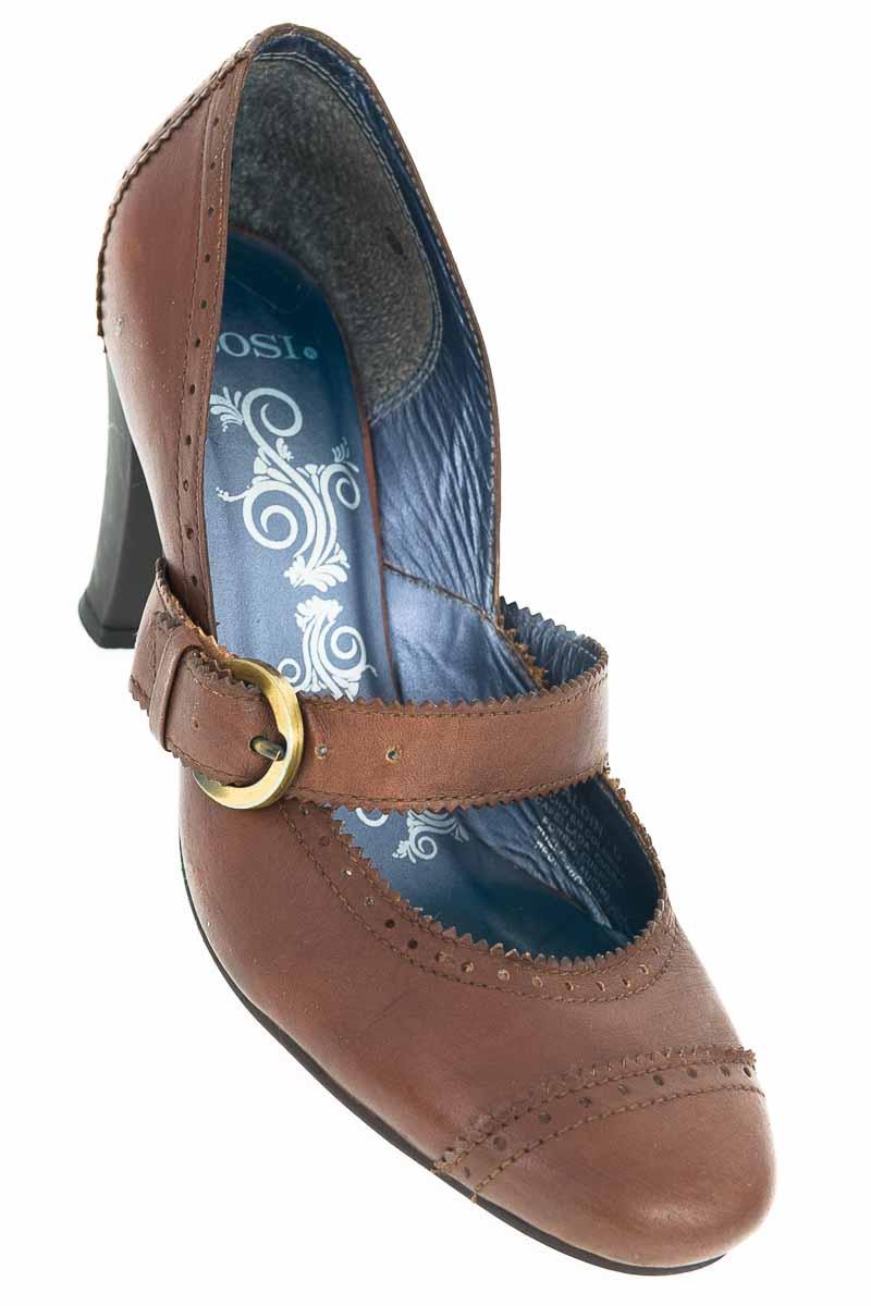 Zapatos Tacón color Café - Bosi