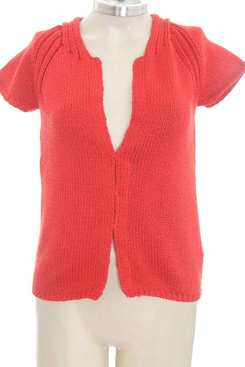 Sweater color Rojo - Zara