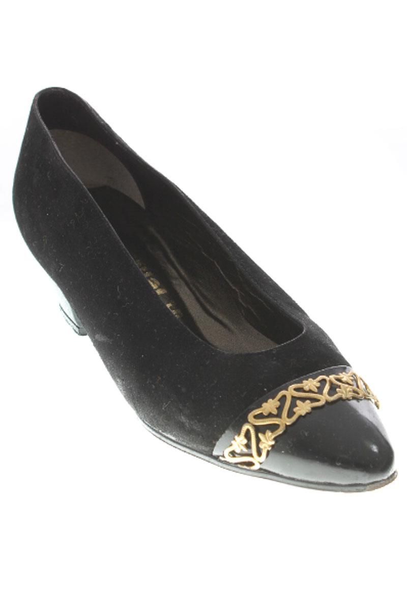 Zapatos Baleta color Negro - In Pelle