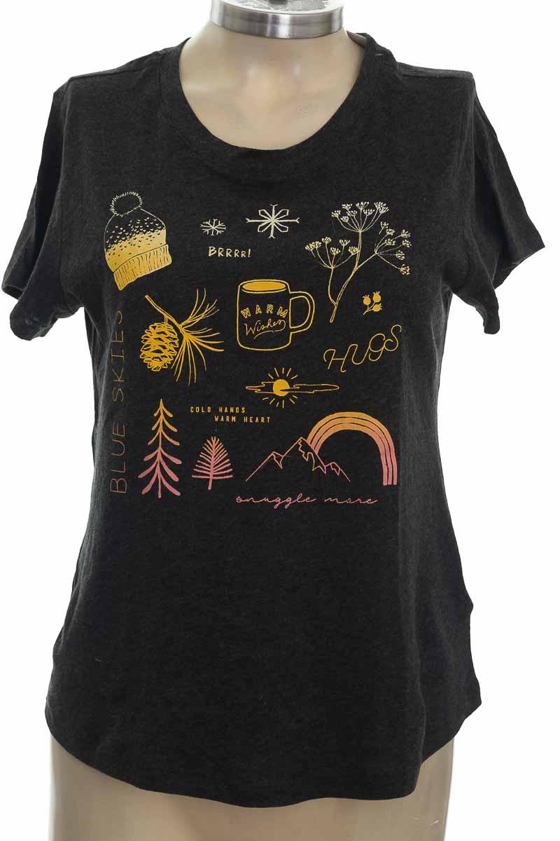 Top / Camiseta color Gris - Old Navy