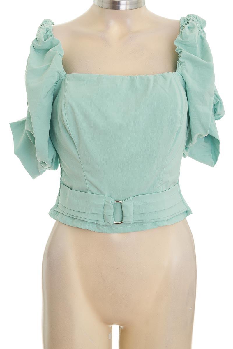 Blusa color Verde - Divat