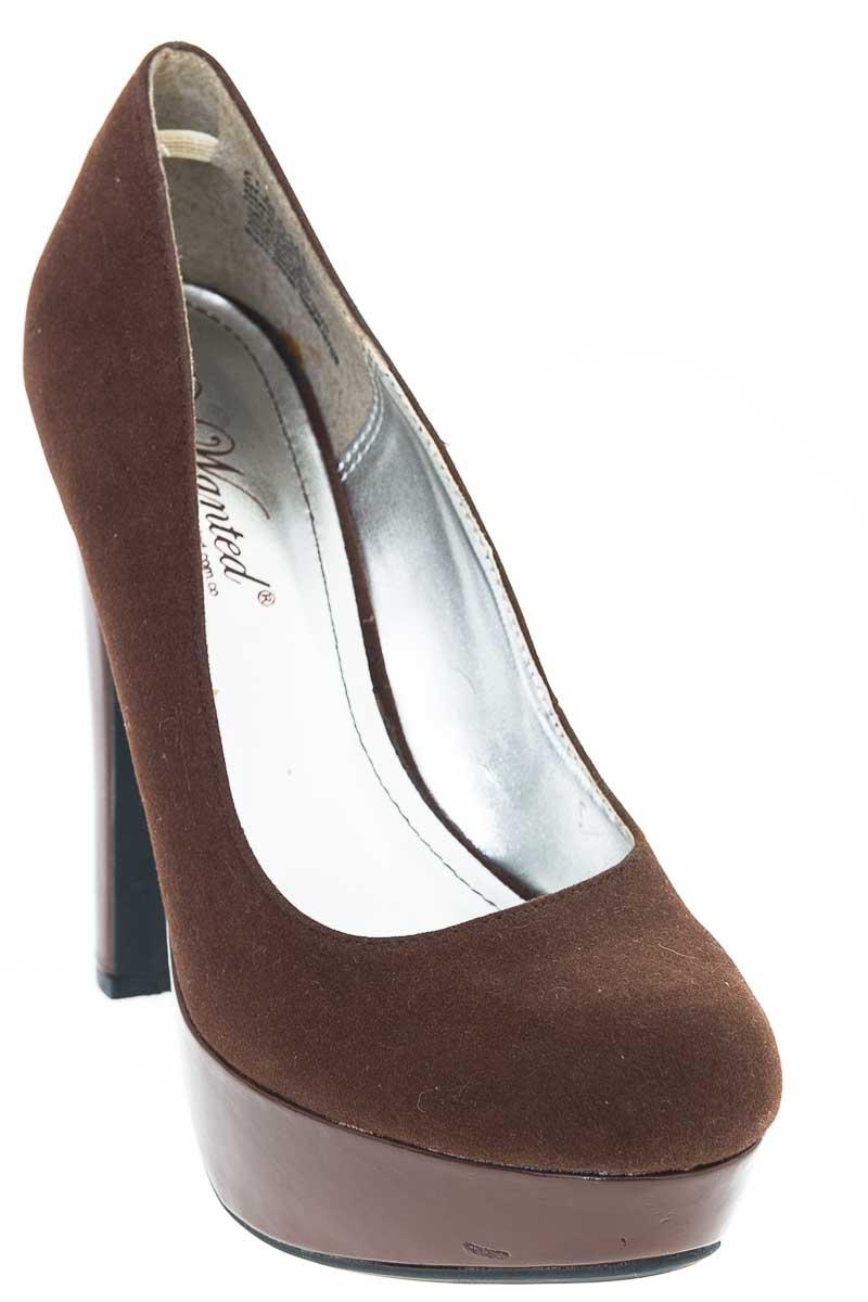 Zapatos Tacón color Café - Wanted